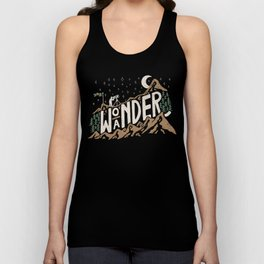 Wo/aNDER Unisex Tank Top