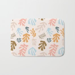 Seaweeds and sand Bath Mat