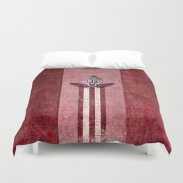 poloplayer red Duvet Cover