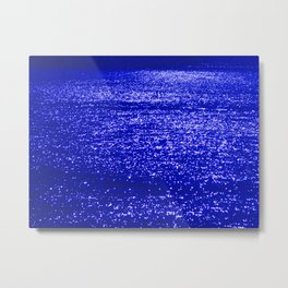 Sparkling Blue Water Metal Print
