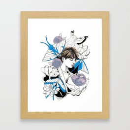 BTS Jin Framed Art Print