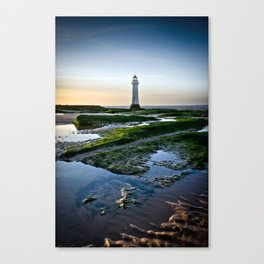 Rock Light Reflections Canvas Print