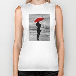 The Red Umbrella Biker Tank