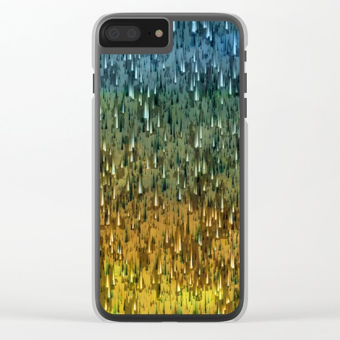 Raining Forest / Autumn 16-10-16 Clear iPhone Case