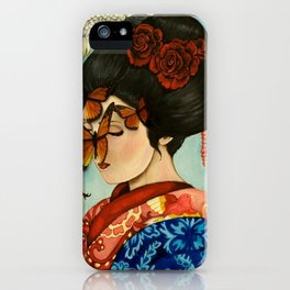 The Exploitation of Butterfly iPhone Case