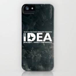 Inception - The most resilient parasite iPhone Case