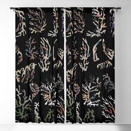 paper corals Blackout Curtain
