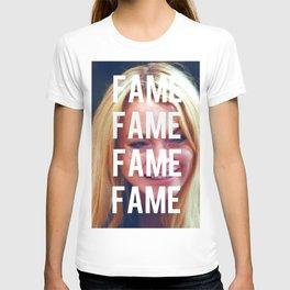 FAME - LINDSAY LOHAN T-shirt