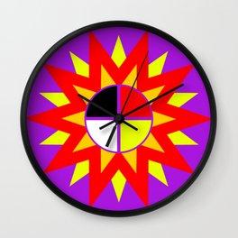 Burst Design Wall Clock