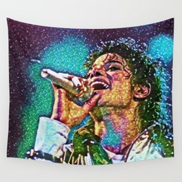 Jackson Artistic Illustration Gems Style Wall Tapestry