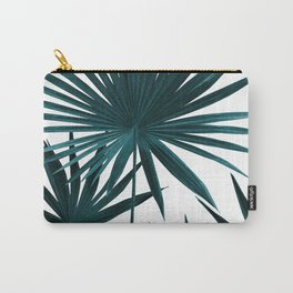Fan Palm Leaves Jungle #1 #tropical #decor #art #society6 Carry-All Pouch