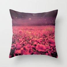 Another World Garden Throw Pillow