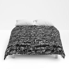 Hand Written Sheet Music // Black Comforters