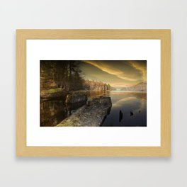Towards Howden Dam Framed Art Print