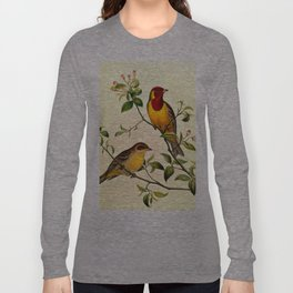 Red-Headed Bunting Long Sleeve T-shirt