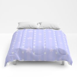 Kawaii Blue Comforters