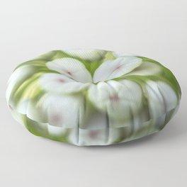 Wht-flowered Milkweed Floor Pillow