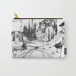 Hamsa in Nature Carry-All Pouch
