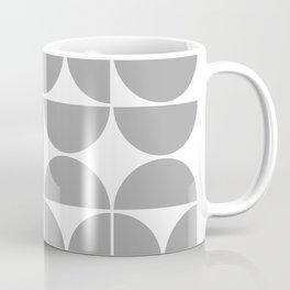 Mid Century Modern Geometric 04 Grey Coffee Mug