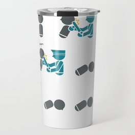First they came Travel Mug