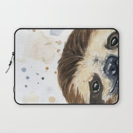 Sloth watercolor Laptop Sleeve