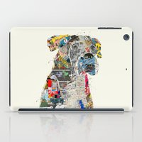 mod iPad Cases featuring the mod boxer by bri.buckley
