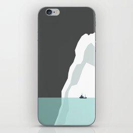 Feeling Small - Iceberg iPhone Skin