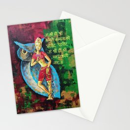 Maha Lakshmi Stationery Cards