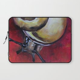 Snail, red picture Laptop Sleeve
