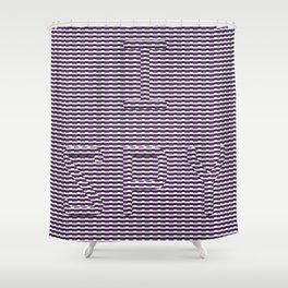 I SPY Texture Shower Curtain