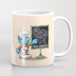 Attack on Titan Smurf Edition Coffee Mug