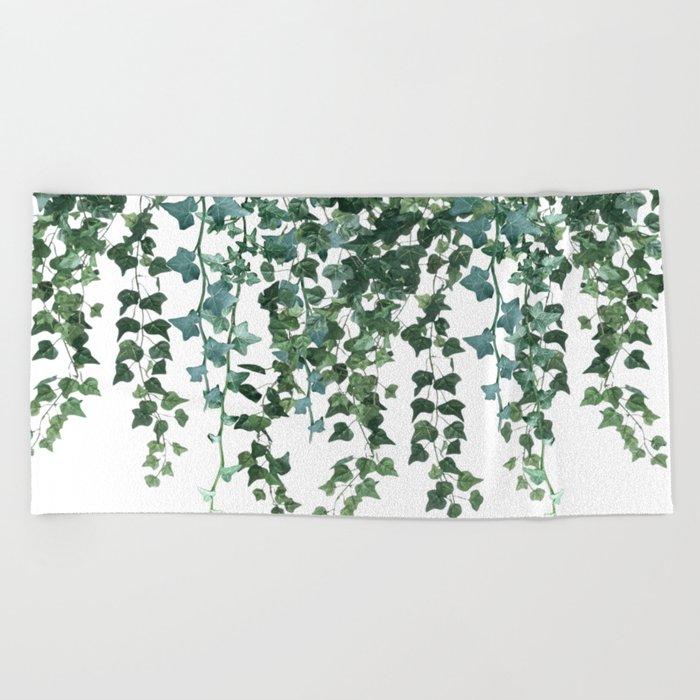 Ivy Vine Drop Beach Towel