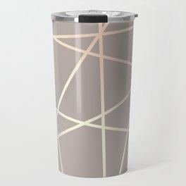 Elegant rose gold pattern Travel Mug