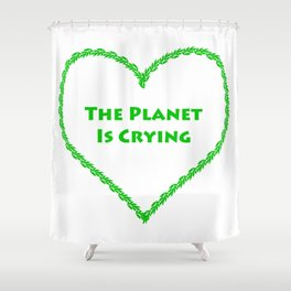 Our Planet Shower Curtain