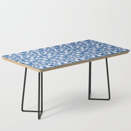 Mod Gingham - Blue Coffee Table