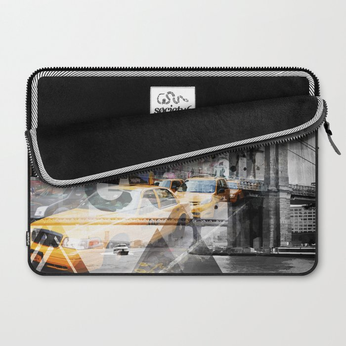 New York City | Geometric Mix No. 9 Laptop Sleeve
