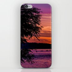 Sunset Over the Beach  iPhone Skin