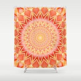 Mandala spiritual strength Shower Curtain