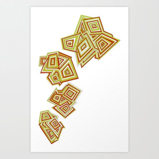Evolving Art Print