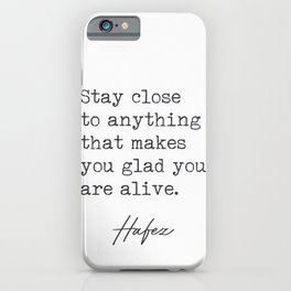Hafez 33 iPhone Case