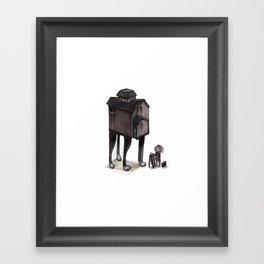 Barn Animal Framed Art Print
