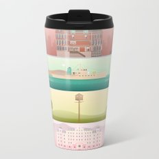 A Wes Anderson Collection Metal Travel Mug