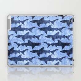 Blue Ocean Shark Laptop & iPad Skin