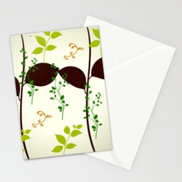 Natures vinest - climbing vines Stationery Cards