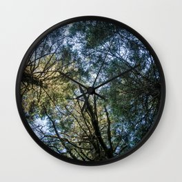 Tree Light Wall Clock