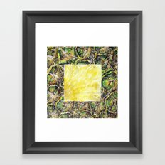 Fresh: Pineapple Framed Art Print
