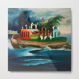 Storm on the Mysterious Island by Tivadar Csontváry Kosztka Metal Print