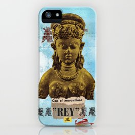 El Maravilloso Rey iPhone Case