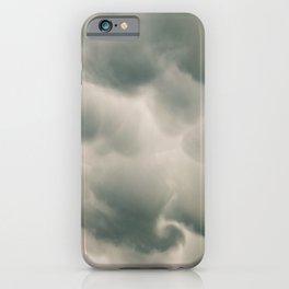 Mammatus Clouds 4 iPhone Case