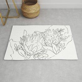 Suid Afrika Proteas Rug